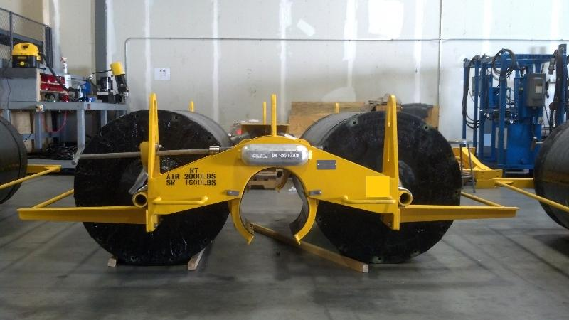 Amalga Composites was contracted to design and engineer a composite component for this subsea application.